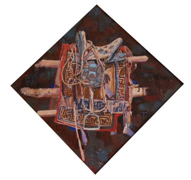 """""""游牧视界""""内蒙古小幅美术作品展作品欣赏 第12张"""