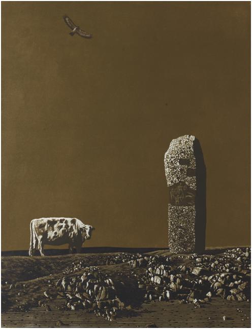 """""""游牧视界""""内蒙古小幅美术作品展作品欣赏 第17张"""