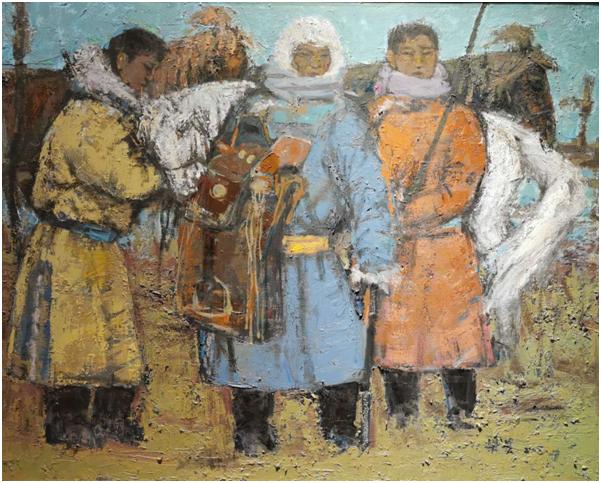 """""""游牧视界""""内蒙古小幅美术作品展作品欣赏 第20张"""
