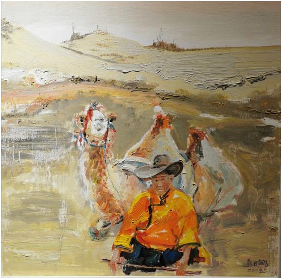 """""""游牧视界""""内蒙古小幅美术作品展作品欣赏 第21张"""
