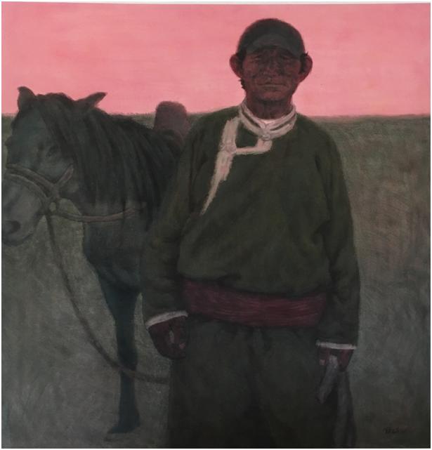 """""""游牧视界""""内蒙古小幅美术作品展作品欣赏 第30张"""