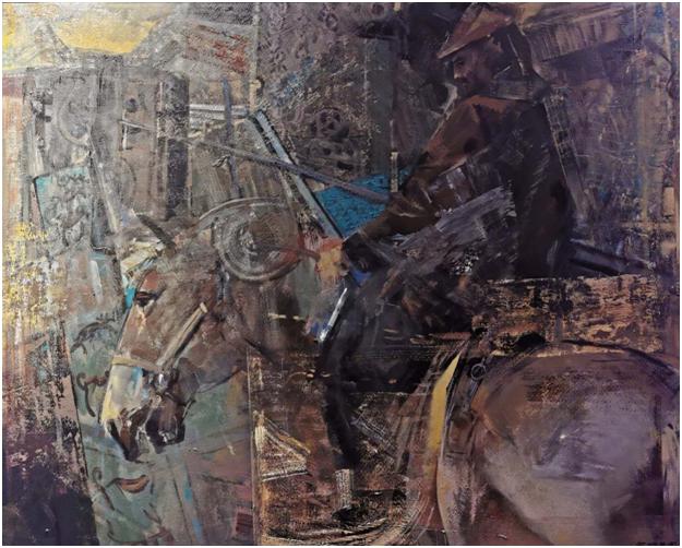 """""""游牧视界""""内蒙古小幅美术作品展作品欣赏 第32张"""
