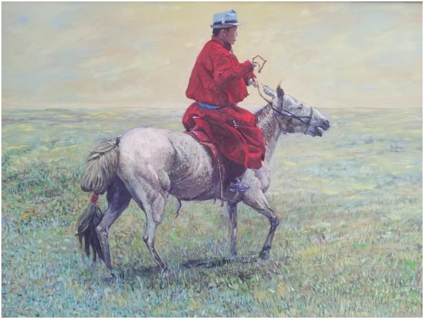 """""""游牧视界""""内蒙古小幅美术作品展作品欣赏 第44张"""