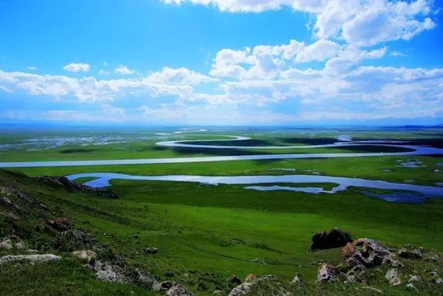 新疆巴音郭楞蒙古自治州和静县巴音布鲁克草原美景 第7张 新疆巴音郭楞蒙古自治州和静县巴音布鲁克草原美景 蒙古文化