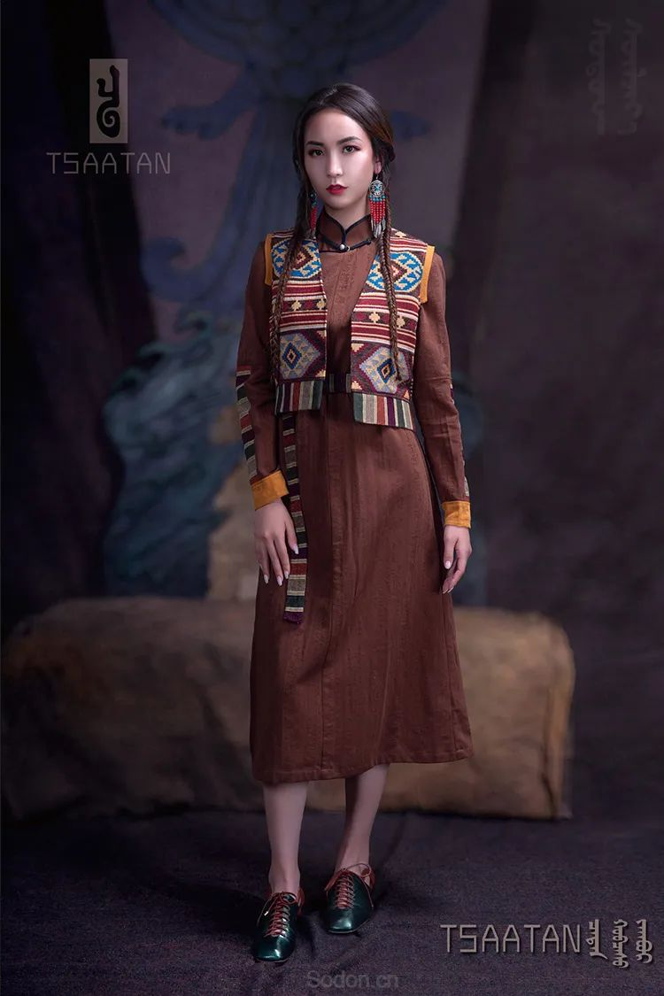 Tsaatan蒙古时装 2020 夏季新款首发 第24张