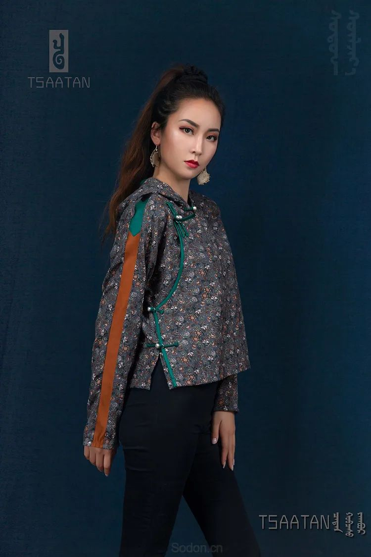 Tsaatan蒙古时装 2020 夏季新款首发 第30张