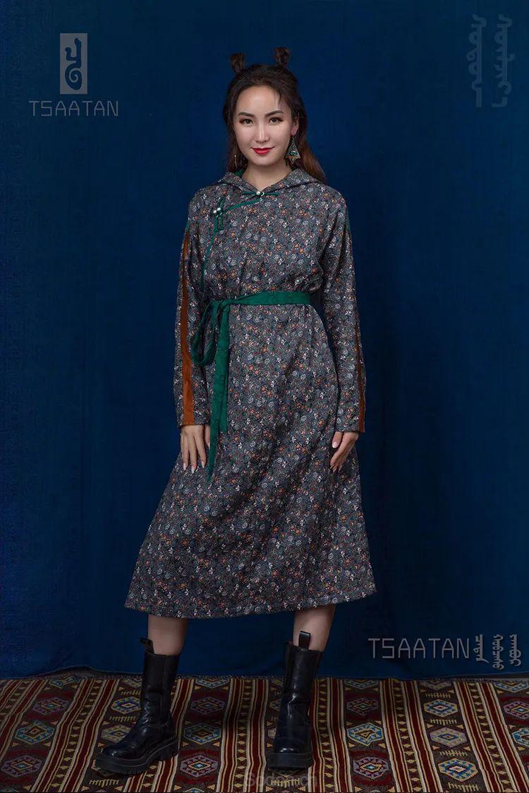 Tsaatan蒙古时装 2020 夏季新款首发 第47张