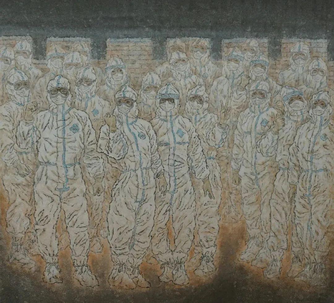 身边的名家丨美术家图力古尔 第8张 身边的名家丨美术家图力古尔 蒙古画廊