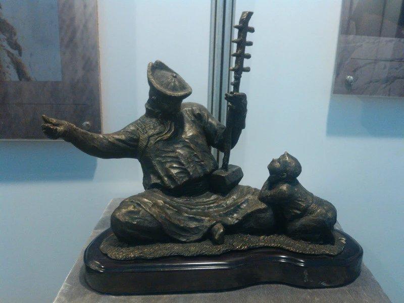 【艺术】蒙古风格的现代雕塑.雕刻 第3张 【艺术】蒙古风格的现代雕塑.雕刻 蒙古画廊