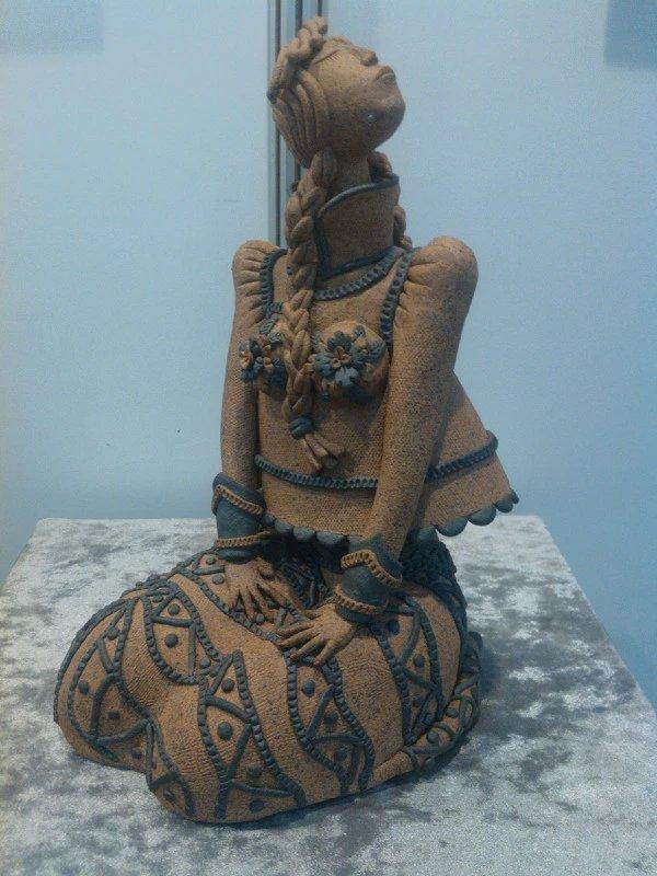 【艺术】蒙古风格的现代雕塑.雕刻 第11张 【艺术】蒙古风格的现代雕塑.雕刻 蒙古画廊