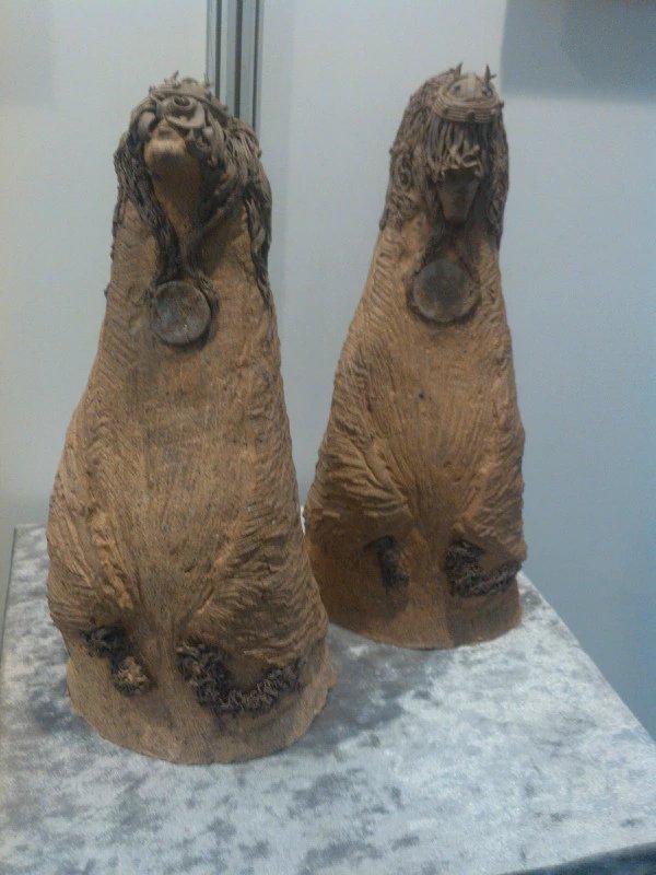 【艺术】蒙古风格的现代雕塑.雕刻 第24张 【艺术】蒙古风格的现代雕塑.雕刻 蒙古画廊
