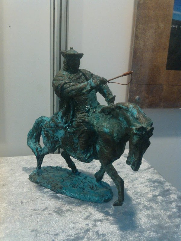 【艺术】蒙古风格的现代雕塑.雕刻 第27张 【艺术】蒙古风格的现代雕塑.雕刻 蒙古画廊