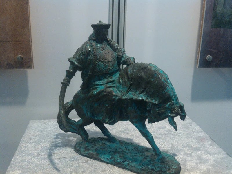 【艺术】蒙古风格的现代雕塑.雕刻 第26张 【艺术】蒙古风格的现代雕塑.雕刻 蒙古画廊