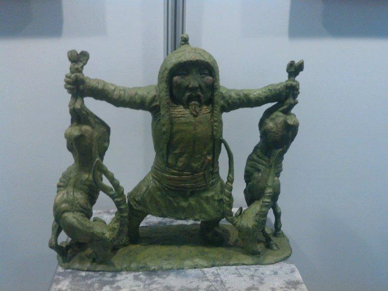 【艺术】蒙古风格的现代雕塑.雕刻 第29张 【艺术】蒙古风格的现代雕塑.雕刻 蒙古画廊