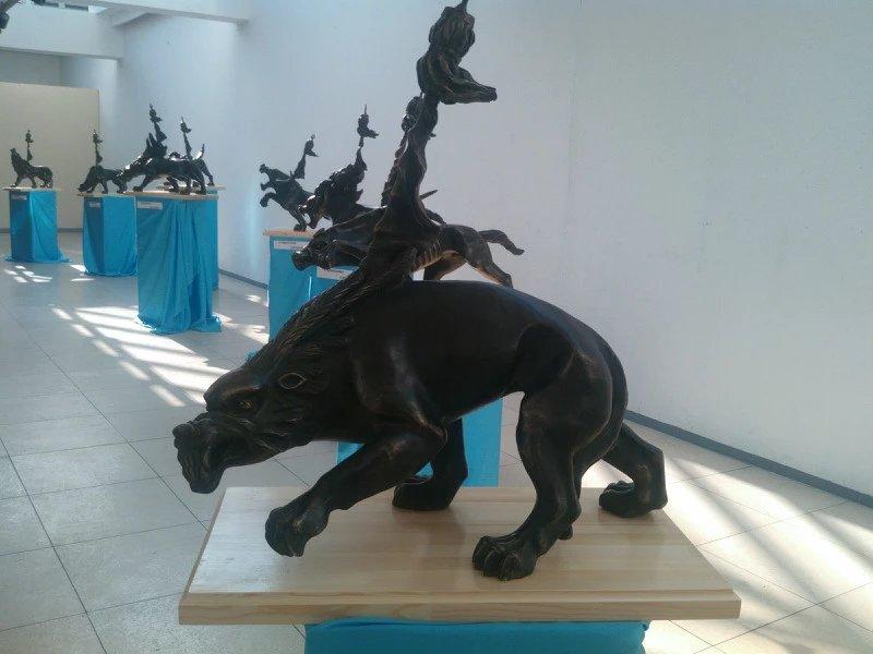 【艺术】蒙古风格的现代雕塑.雕刻 第32张 【艺术】蒙古风格的现代雕塑.雕刻 蒙古画廊