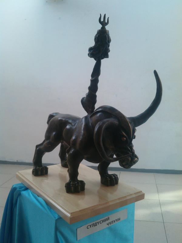 【艺术】蒙古风格的现代雕塑.雕刻 第38张 【艺术】蒙古风格的现代雕塑.雕刻 蒙古画廊