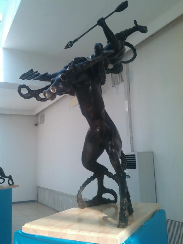 【艺术】蒙古风格的现代雕塑.雕刻 第49张 【艺术】蒙古风格的现代雕塑.雕刻 蒙古画廊