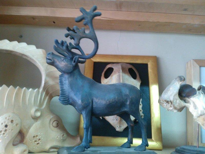 【艺术】蒙古风格的现代雕塑.雕刻 第56张 【艺术】蒙古风格的现代雕塑.雕刻 蒙古画廊