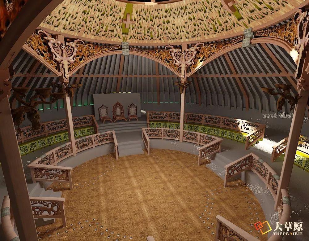"""有38年工作经验的蒙古国雕刻师,为什么将蒙古包称为""""会呼吸的建筑""""? 第4张"""