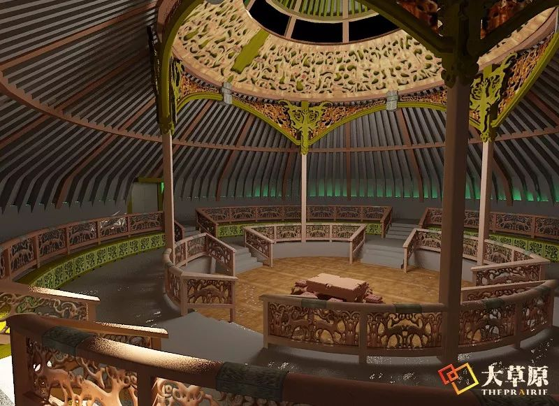 """有38年工作经验的蒙古国雕刻师,为什么将蒙古包称为""""会呼吸的建筑""""? 第5张"""