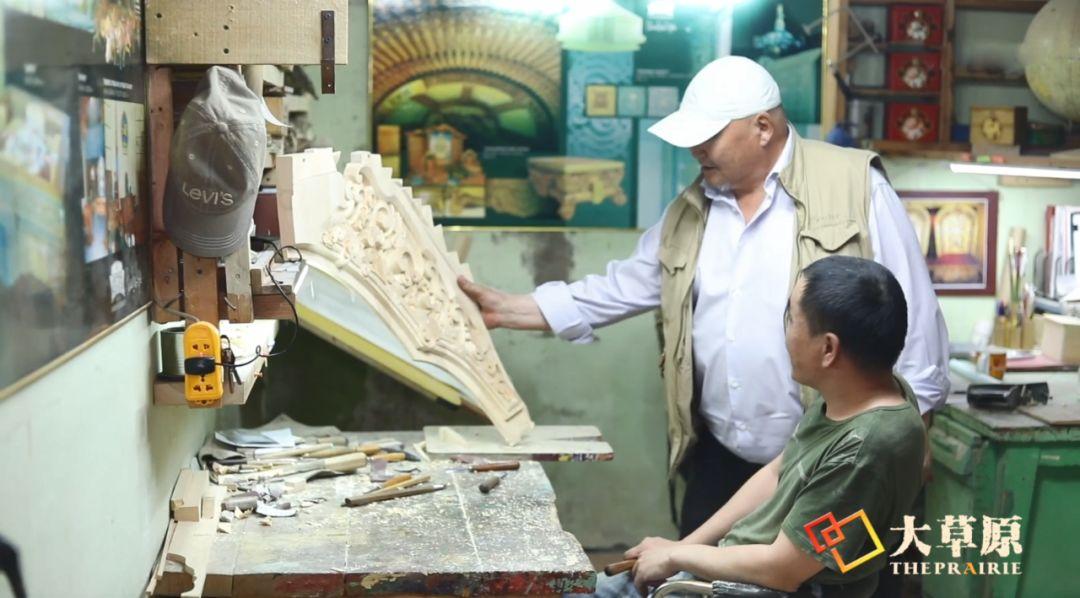 """有38年工作经验的蒙古国雕刻师,为什么将蒙古包称为""""会呼吸的建筑""""? 第10张"""