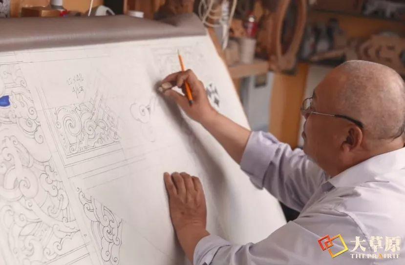 """有38年工作经验的蒙古国雕刻师,为什么将蒙古包称为""""会呼吸的建筑""""? 第8张"""