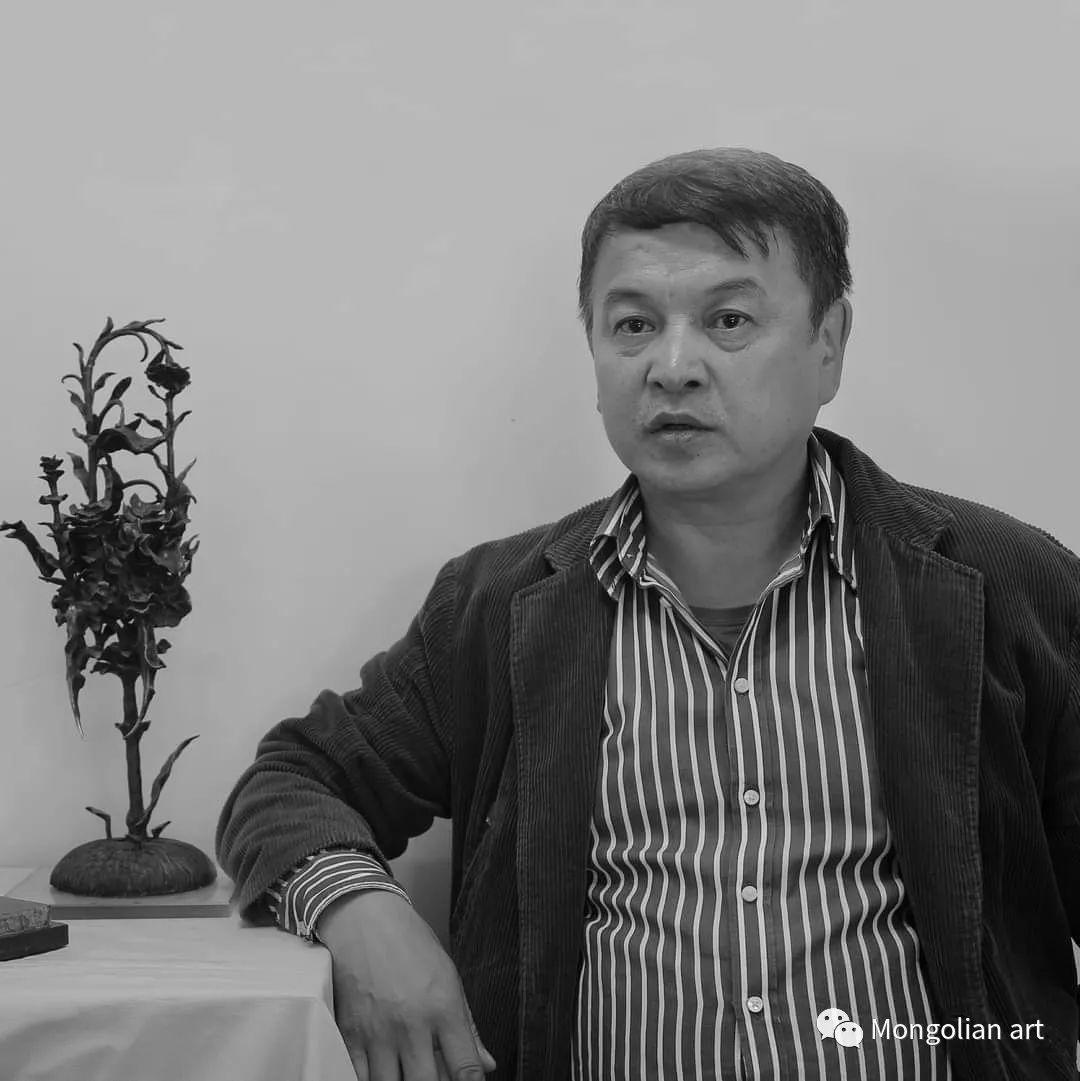 蒙古艺术博物馆获奖雕塑家Tuvdendorj Darzav
