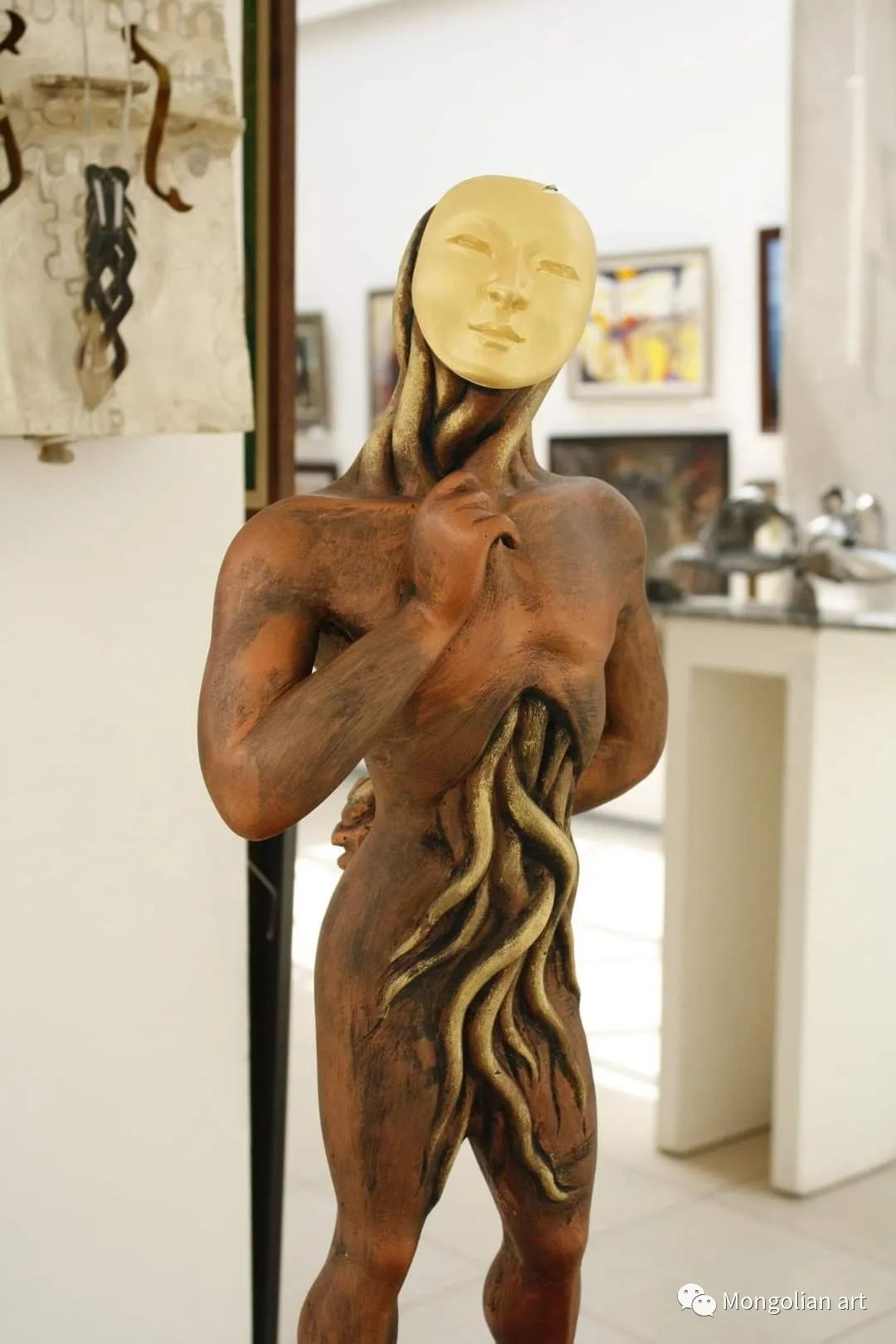 蒙古国雕塑艺术家Дашмаагийн Очир 第7张