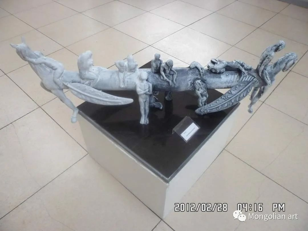 蒙古国雕塑艺术家Дашмаагийн Очир 第14张