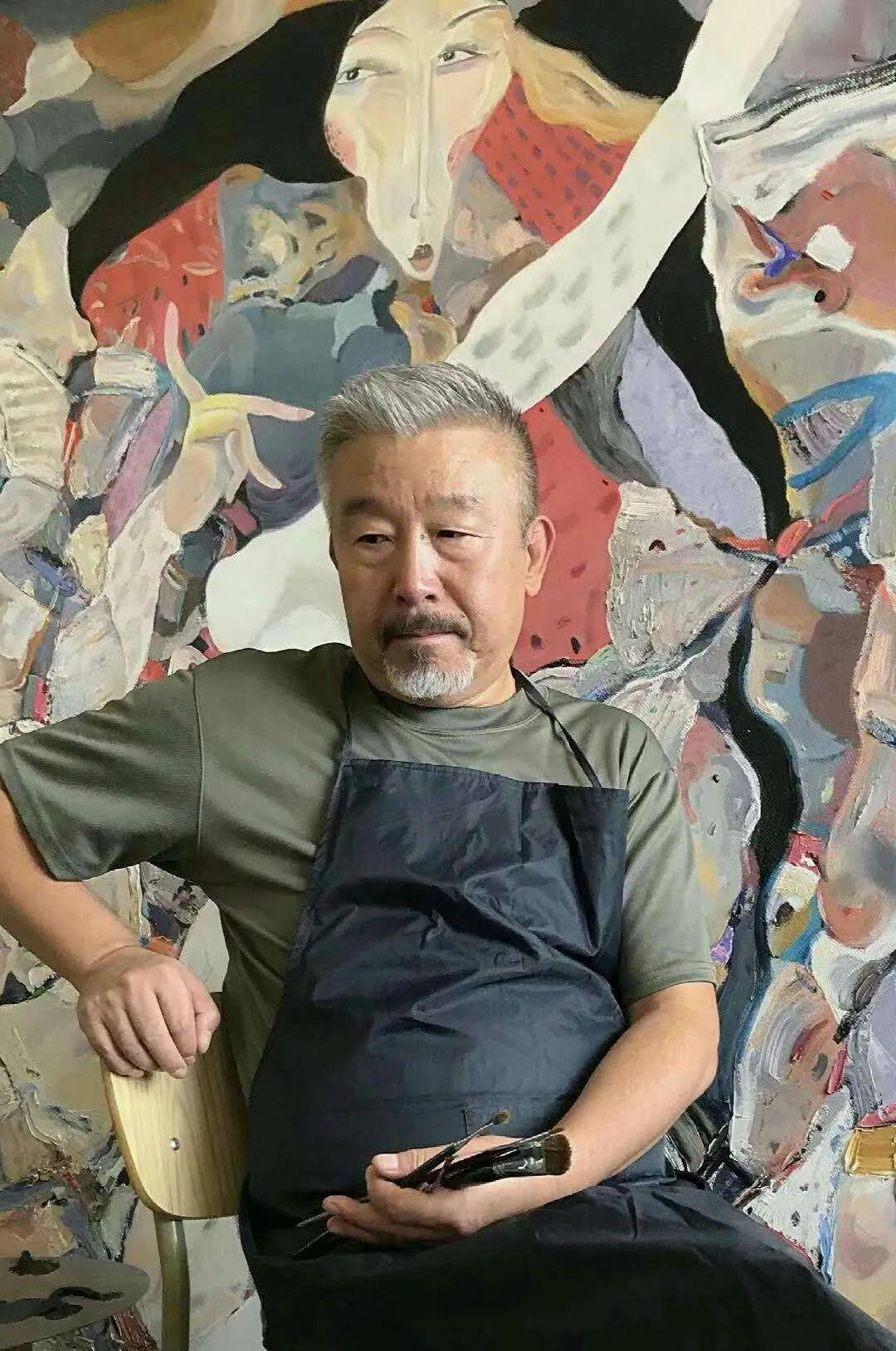 莫日根   用绘画寻找灵魂栖居之所 第1张 莫日根   用绘画寻找灵魂栖居之所 蒙古画廊
