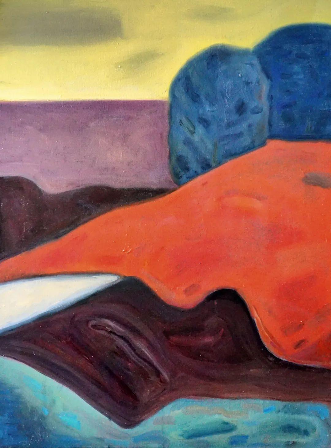 莫日根   用绘画寻找灵魂栖居之所 第6张 莫日根   用绘画寻找灵魂栖居之所 蒙古画廊