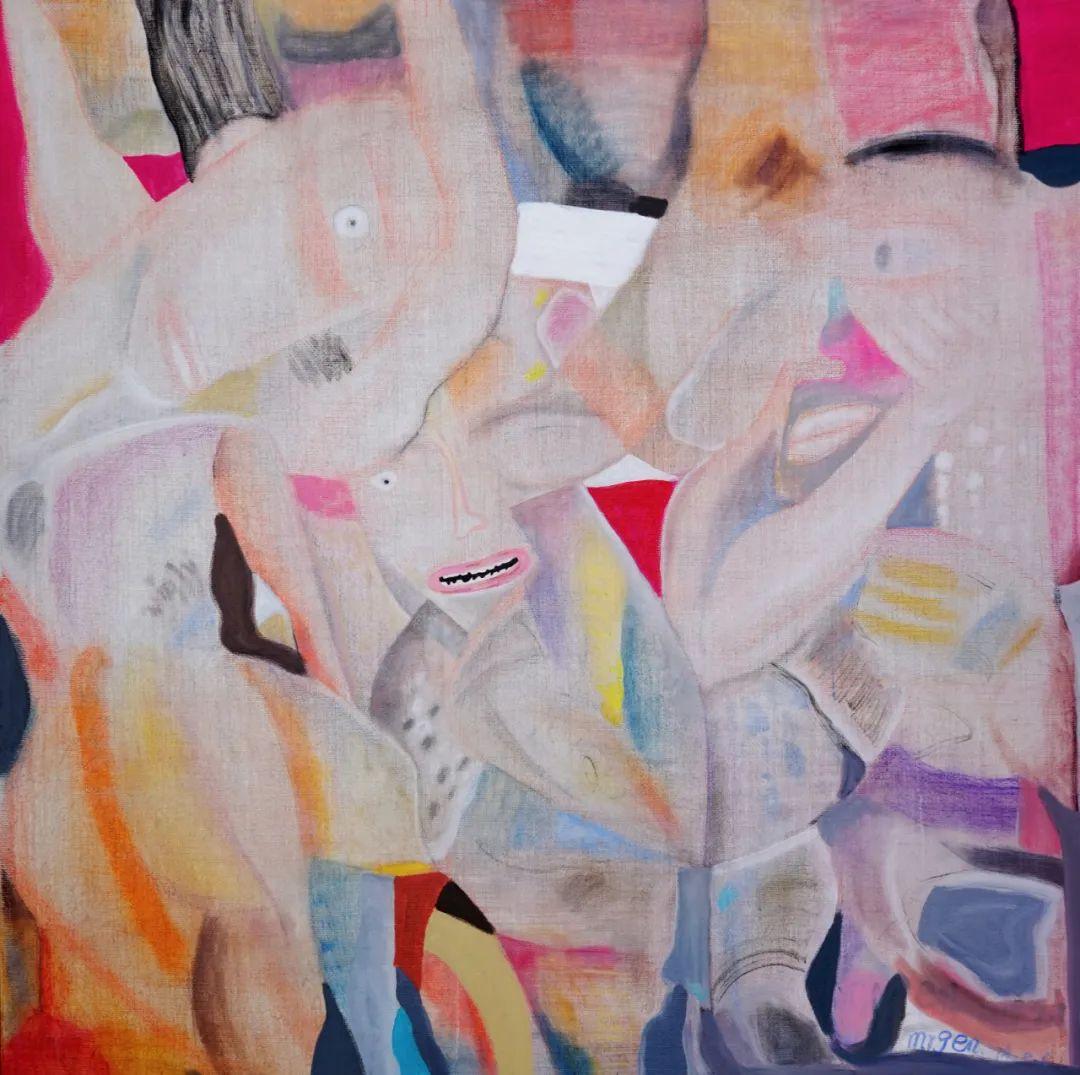 莫日根   用绘画寻找灵魂栖居之所 第9张 莫日根   用绘画寻找灵魂栖居之所 蒙古画廊