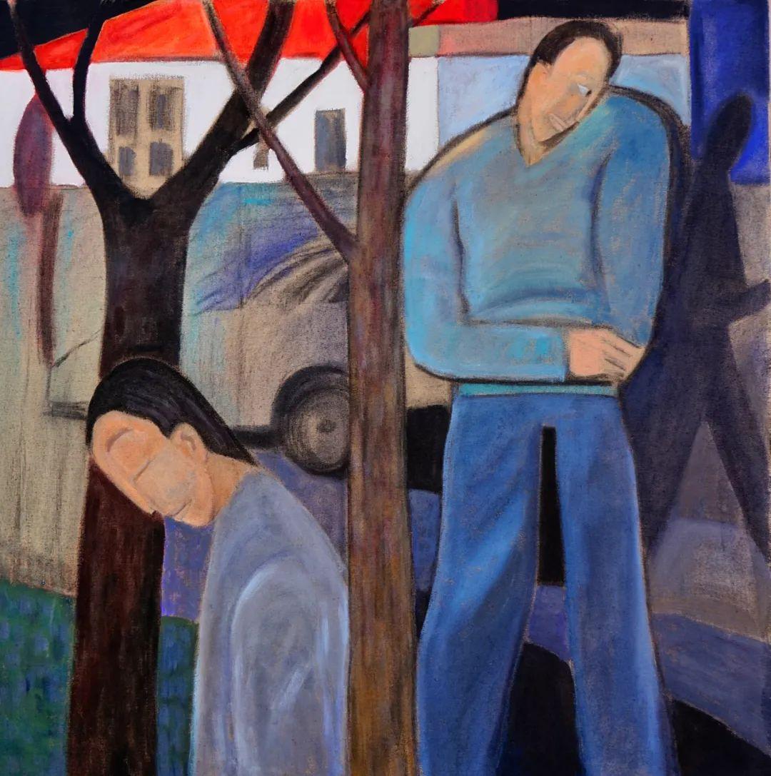 莫日根   用绘画寻找灵魂栖居之所 第14张 莫日根   用绘画寻找灵魂栖居之所 蒙古画廊