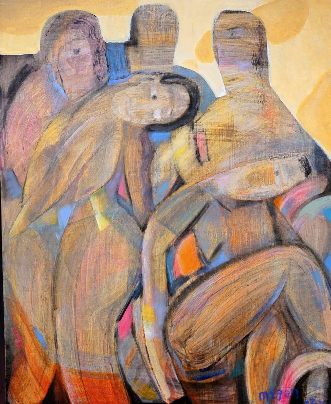莫日根   用绘画寻找灵魂栖居之所 第16张 莫日根   用绘画寻找灵魂栖居之所 蒙古画廊