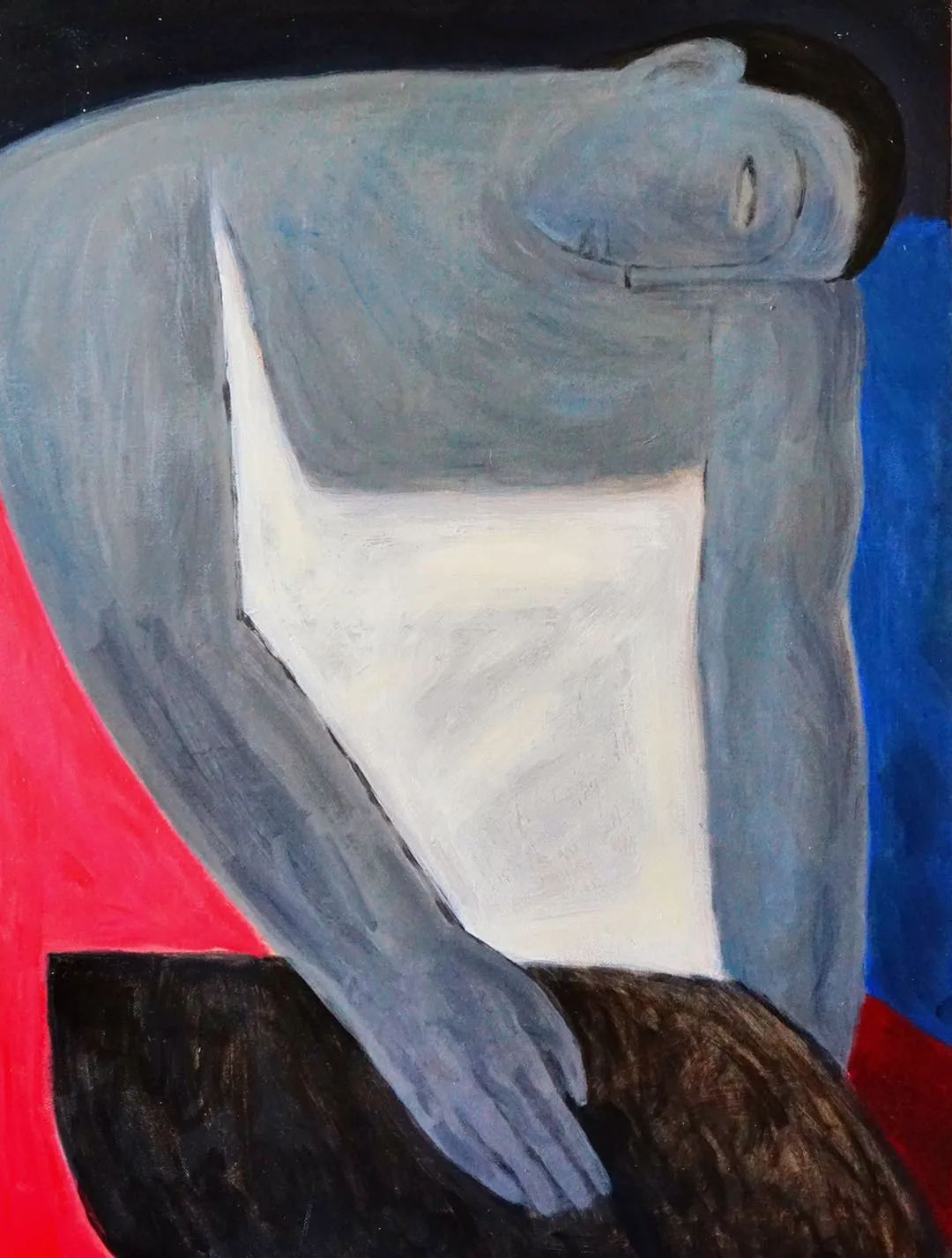 莫日根   用绘画寻找灵魂栖居之所 第19张 莫日根   用绘画寻找灵魂栖居之所 蒙古画廊