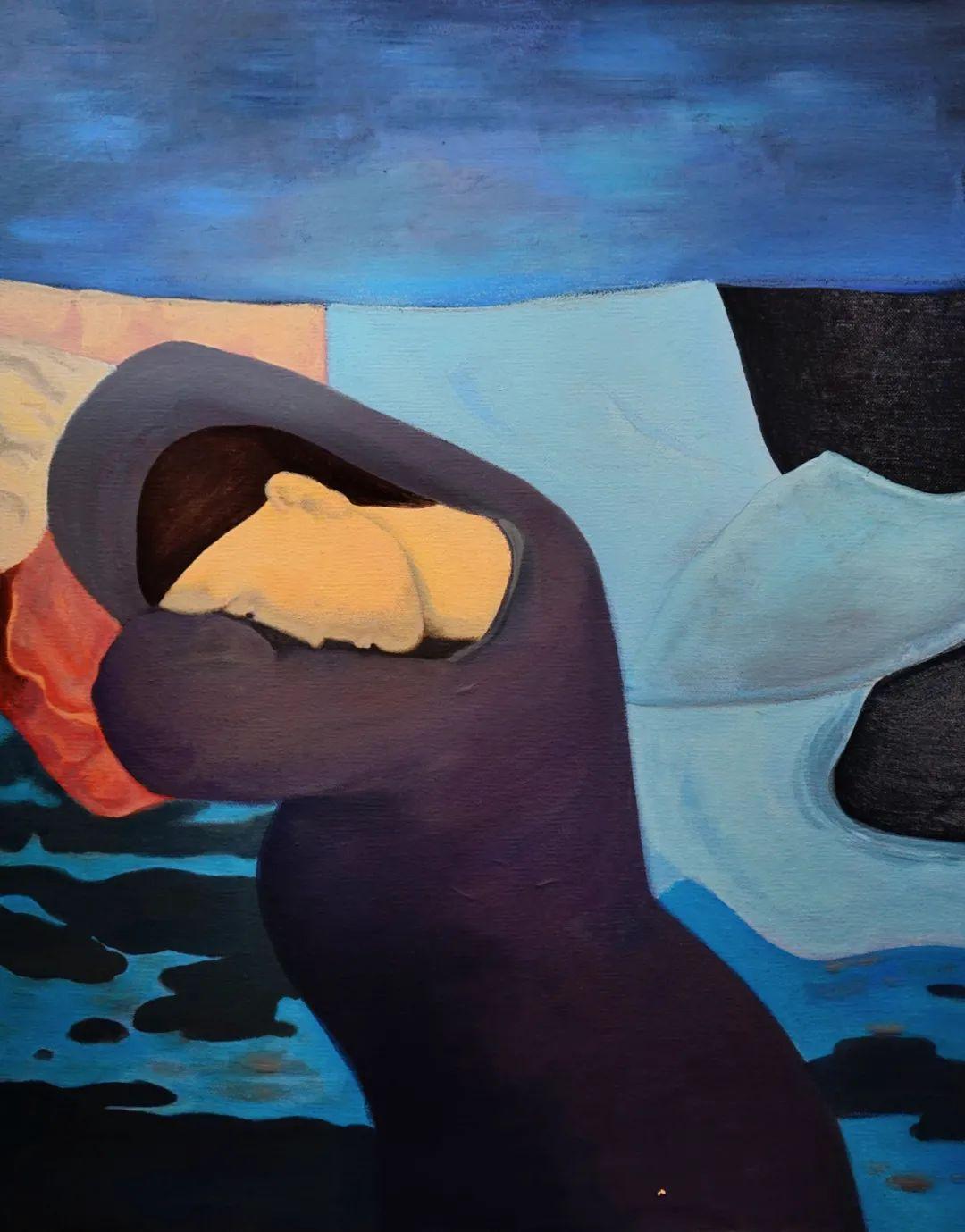 莫日根   用绘画寻找灵魂栖居之所 第22张 莫日根   用绘画寻找灵魂栖居之所 蒙古画廊