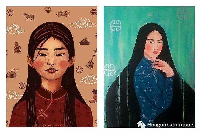 乌兰乌德青年画家苏菲·库兹米娜 第3张