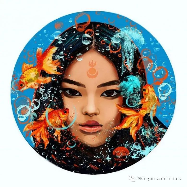 乌兰乌德青年画家苏菲·库兹米娜 第6张