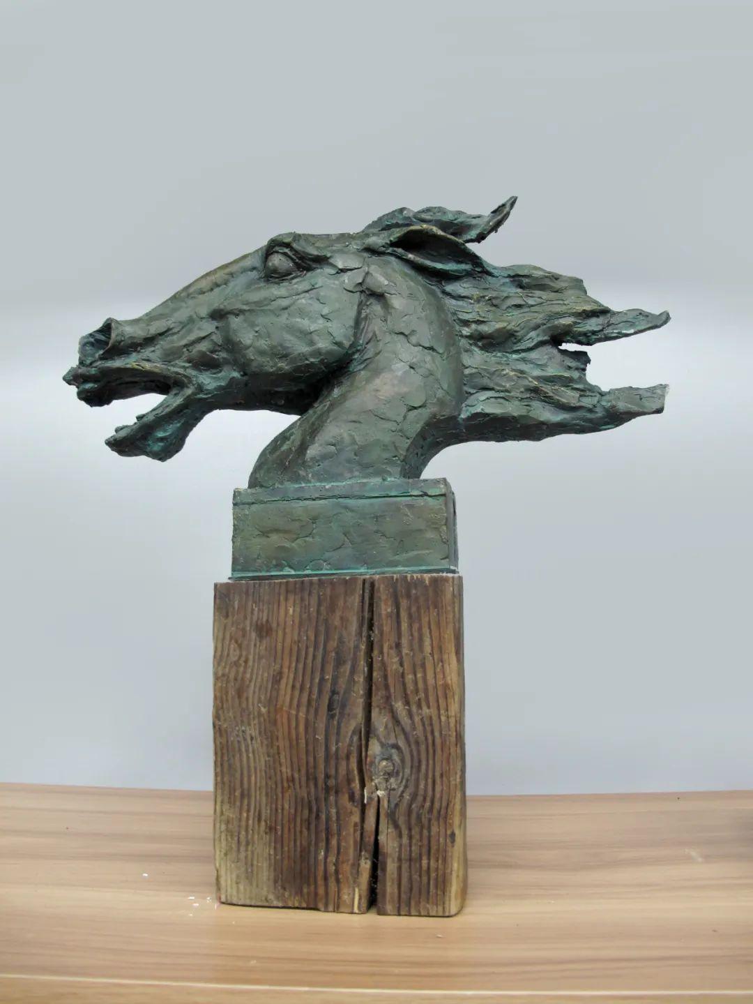 家乡美 | 孟根套海雕塑作品欣赏 第10张