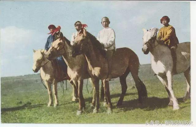 极其罕见!民国时期的蒙古风俗图 难得一见... 第3张 极其罕见!民国时期的蒙古风俗图 难得一见... 蒙古文化