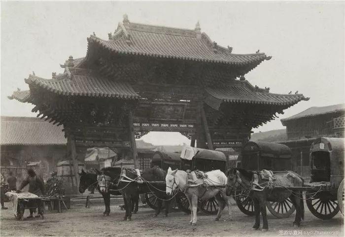 民国时期的内蒙古呼和浩特老照片 第7张 民国时期的内蒙古呼和浩特老照片 蒙古文化
