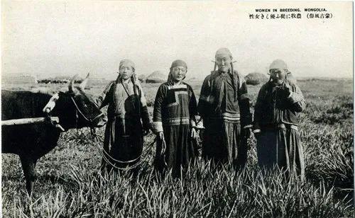 蒙古风俗(民国日本明信片) 第3张