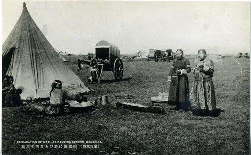 蒙古风俗(民国日本明信片) 第9张