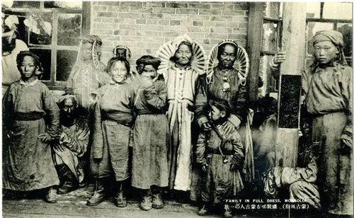 蒙古风俗(民国日本明信片) 第14张
