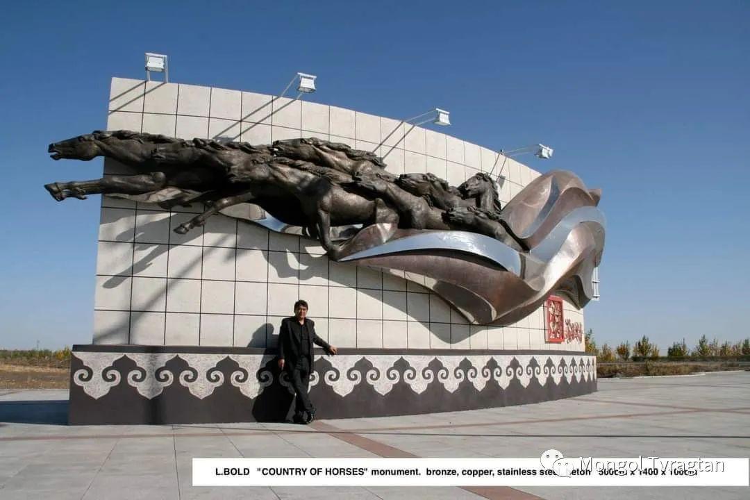 ᠤᠷᠠᠨ ᠪᠠᠷᠢᠮᠠᠯᠴᠢ - ᠯ᠂ ᠪᠤᠯᠤᠳ蒙古国雕塑家- 乐,宝力道 第10张