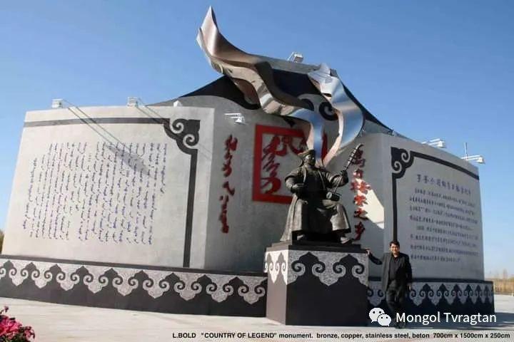 ᠤᠷᠠᠨ ᠪᠠᠷᠢᠮᠠᠯᠴᠢ - ᠯ᠂ ᠪᠤᠯᠤᠳ蒙古国雕塑家- 乐,宝力道 第11张