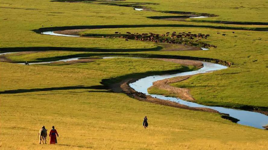秋天的乌珠穆沁草原,太美了! 第13张 秋天的乌珠穆沁草原,太美了! 蒙古文化