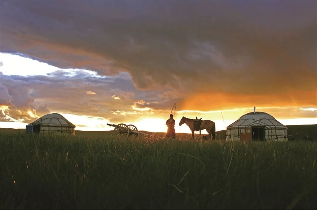 秋天的乌珠穆沁草原,太美了! 第18张 秋天的乌珠穆沁草原,太美了! 蒙古文化