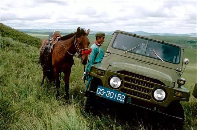 30年前的乌珠穆沁草原老照片 第2张