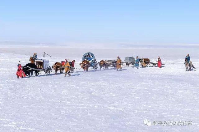 乌珠穆沁草原蒙古族搬家走场全过程